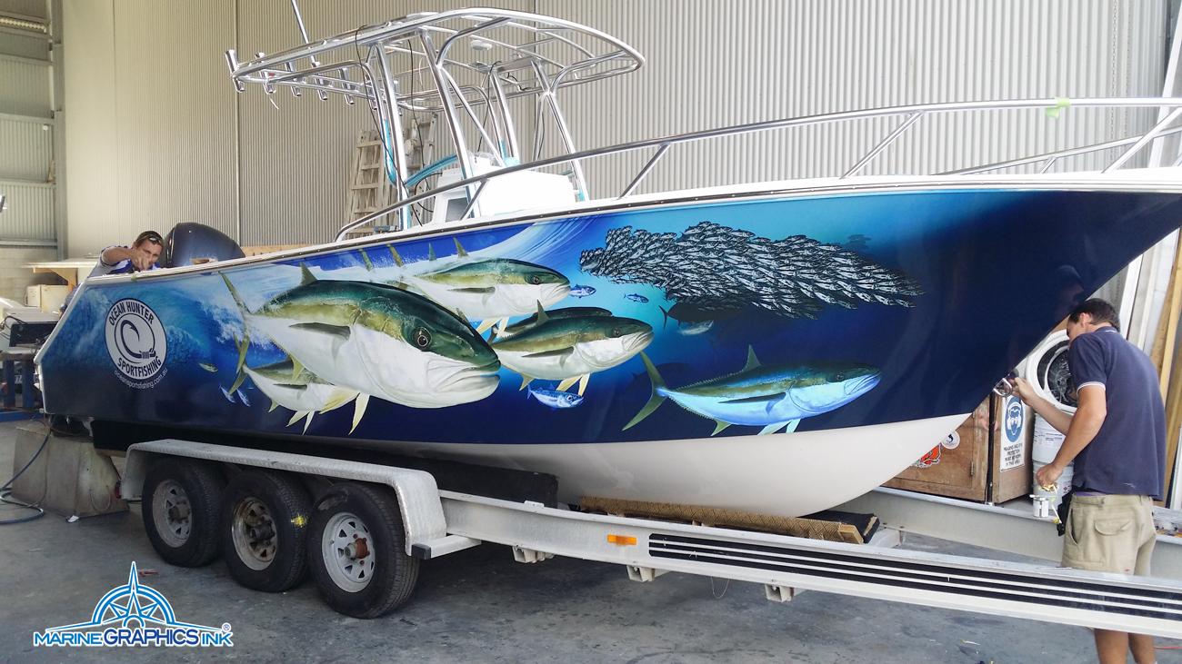 Images Tagged Kingfish Boat Wrap