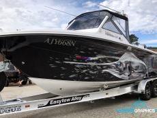 Boat Wrap Gallery - Marine Graphics Ink