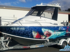 We are the specialists in boat graphics…. here's a few to view.