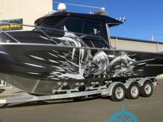 senator boat wrap