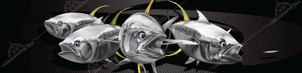 yellowfin wrap